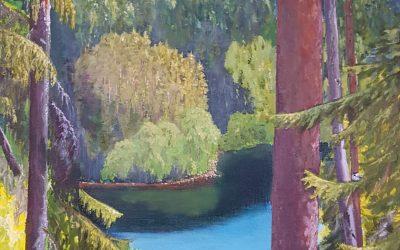 Näyttely Metsä, maahiset ja loitsut